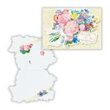 ホールマーク 多目的カード ホールマークアートコレクション ロマンティックブーケ 681357