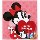 ホールマーク 誕生お祝い オルゴール ディズニー 697839 ミニーダイカット