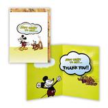 ホールマーク ありがとうグリーティング 立体 ディズニー 697877 ミッキーとプルート