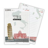 ホールマーク レターパッド ワールドチケット 699963 イタリア