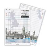 ホールマーク レターパッド ワールドチケット 699987 UK