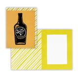 ホールマーク GTY 黒箔 704636 ビール瓶