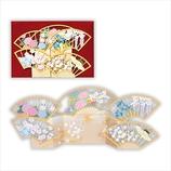 【クリスマス】ホールマーク 和風クリスマス レーザーギャラリー グリーティングカード 扇子 709976