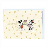 ホールマーク(Hallmark) ディズニー ありがとう 立体カード 715113 ゴールドハートミッキー&ミニー│カード・ポストカード グリーティングカード