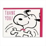 ホールマーク スヌーピー ラブリーダンス ありがとう 立体カード 715168│カード・ポストカード バレンタインカード