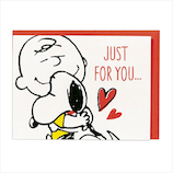ホールマーク(Hallmark) スヌーピー 多目的 立体カード 715175 ハグチャーリー│カード・ポストカード ウエディングカード