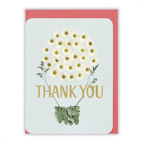 ホールマーク ありがとうグリーティング 花フォト 715571 白ブーケ
