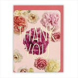 ホールマーク ありがとうグリーティング 花フォト 715588 ピンクローズ