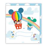 ホールマーク 色紙 ディズニー 二つ折り 718206 ミッキーたち