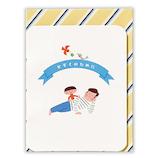 ホールマーク グリーティングカード サンキュー 立体 721282 子供とパパ