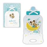 ホールマーク BABYグリーティング 立体 ディズニー 721695 ミッキー哺乳瓶