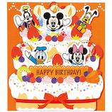ホールマーク 誕生お祝い オルゴール ディズニー 721824 ケーキからミッキーたち