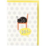 ホールマーク 誕生お祝い 立体カード 猫あるある 722296 ビックリ猫