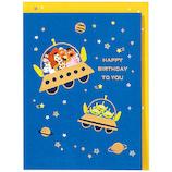 ホールマーク 誕生お祝い 立体カード ディズニー 722456 トイ・宇宙