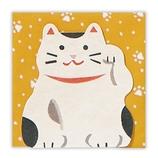 ホールマーク ミニメッセージカードセット 小 あいさつ 724597 招き猫