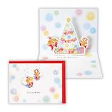 【クリスマス】ホールマーク クリスマスカード 立体カード ベアーズ・ウィッシュ 雪の結晶 728076