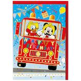 ホールマーク 誕生お祝い 立体カード ディズニー 732127 パルス消防車