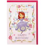 ホールマーク 誕生お祝い 立体カード ディズニー 732134 ソフィア│カード・ポストカード バースデー・誕生日カード