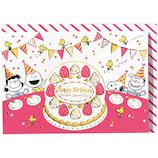 ホールマーク 誕生お祝い 立体カード スヌーピー 732196 みんなでケーキ