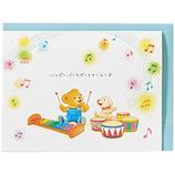 ホールマーク 誕生お祝い 立体カード ベアーズ・ウィッシュ 732264 木琴