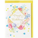 ホールマーク 誕生お祝い 立体カード ギフト・オブ・ブーケ 732295 カラフルブーケ