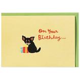 ホールマーク 誕生お祝い 立体カード 732530 ペット・チワワ