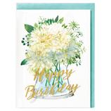 ホールマーク 誕生日グリーティングカード イン・ザ・グラス 739010 ダリア