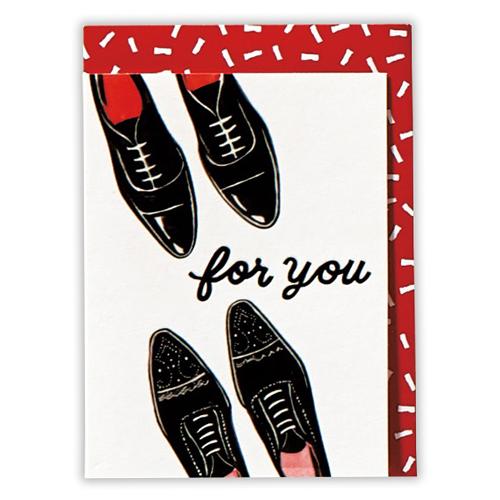 <東急ハンズ> ホールマーク グリーティング 多目的 ミニカード メイド・フォー・メン 739157 靴