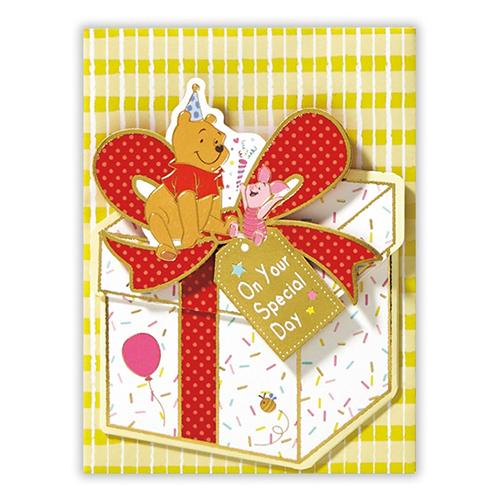 <東急ハンズ> ホールマーク 誕生日グリーティング 立体カード ディズニー 739287 プーボックス