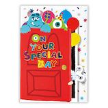 ホールマーク 誕生日グリーティング 立体カード ディズニー 739300 モンスターズ・インク