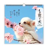 【2019年版・壁掛】 日本ホールマーク リングカレンダー大 もの思う犬 743789