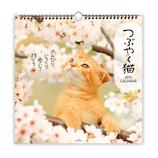 【2019年版・壁掛】 日本ホールマーク リングカレンダー大 つぶやく猫 743796