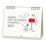 【2019年版・卓上】 日本ホールマーク 卓上カレンダー スヌーピー ピーナッツ2019 743994