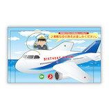 日本ホールマーク オルゴールカード 746506 飛行機