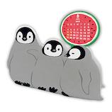 【2019年版・卓上】 日本ホールマーク メモスタンドカレンダー/卓上 メモスタンド・ペンギン 749477