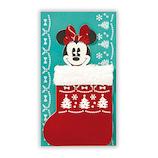 【クリスマス】ホールマーク クリスマスカード ディズニー くつ下からミニー 750145