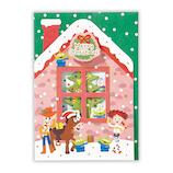 【クリスマス】ホールマーク(Hallmark) 立体グリーティングカード ディズニー トイストーリー クリスマスの家 750251