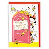 ホールマーク(Hallmark) 誕生お祝いカード 立体 スヌーピー 753610 楽しいパーティ