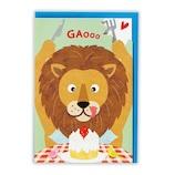 ホールマーク(Hallmark) 誕生日カード 立体 753764 ライオンとショート│カード・ポストカード バースデー・誕生日カード