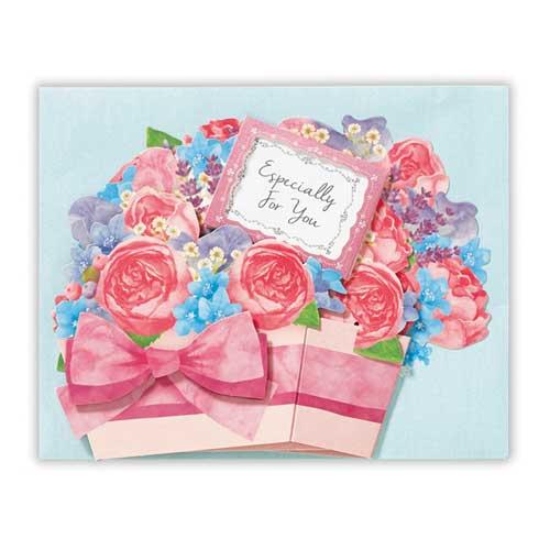 日本ホールマーク 多目的グリーティングカード 立体花香るラベンダー 753931