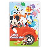 ホールマーク(Hallmark) 誕生お祝いカード 立体 ディズニー 756314 カットパルス車