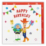 ホールマーク(Hallmark) ミニ誕生お祝いカード 立体 ディズニー 756383 トイ・ストーリー│カード・ポストカード バースデー・誕生日カード