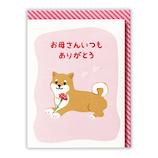 日本ホールマーク 母の日 立体グリーティングカード 759094 しばいぬ│カード・ポストカード メッセージカード