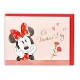 日本ホールマーク 母の日 立体グリーティングカード ディズニー 花の輪 759117 ミニー│カード・ポストカード メッセージカード
