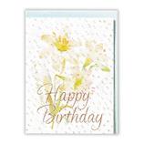 ホールマーク(Hallmark) 誕生日祝い/グリーティングカード シャイニーベール 759315 カサブランカ