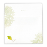 ホールマーク(Hallmark) レターパッド用封筒 シャイニングモーメント 760007 木葉と小鳥