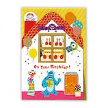 ホールマーク(Hallmark) 誕生日祝い/立体カード ディズニー 760892 モンスターズユニバーシティ