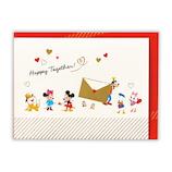 日本ホールマーク 多目的/立体カード ディズニー 760908 パルスお手紙│カード・ポストカード グリーティングカード