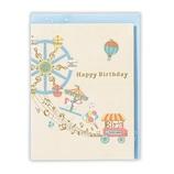 ホールマーク(Hallmark) 誕生お祝い/立体カード シャイニー・ミュージック 762346 遊園地│カード・ポストカード バースデー・誕生日カード