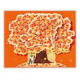 ホールマーク(Hallmark) 秋/立体カード 762537 紅葉の木
